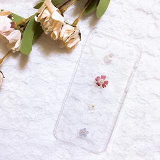 押し花*iPhoneケース(スマホケース)