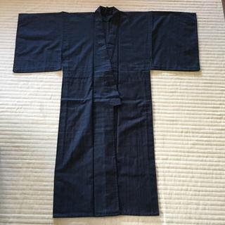 男性用 ウール素材の羽織と着物と長襦袢のセット(着物)