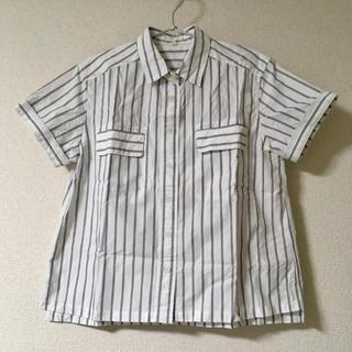 ムジルシリョウヒン(MUJI (無印良品))のMUJI Labo ストライプシャツ(シャツ/ブラウス(半袖/袖なし))