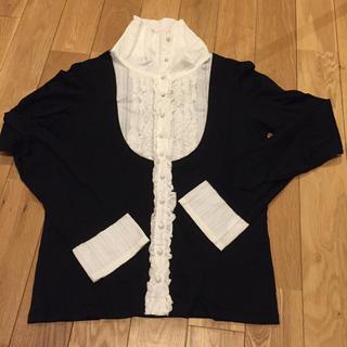 エーティー(A/T)のA/T  トップス 長袖 ブラウス(Tシャツ(長袖/七分))