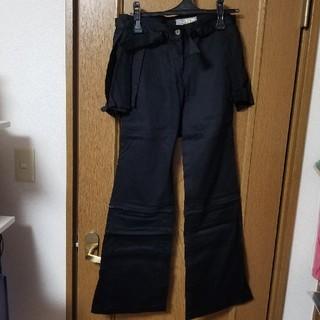 アトリエボズ(ATELIER BOZ)のアトリエBOZ巻きスカート付パンツ(カジュアルパンツ)