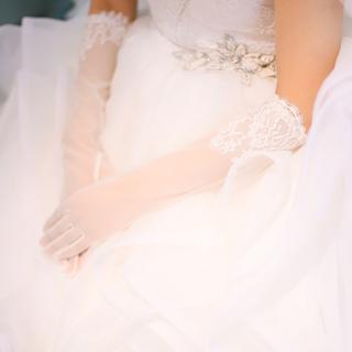 ヴェラウォン(Vera Wang)の♡ フォーシス&カンパニー レース グローブ 結婚式 ウェディング ブライダル(ウェディングドレス)