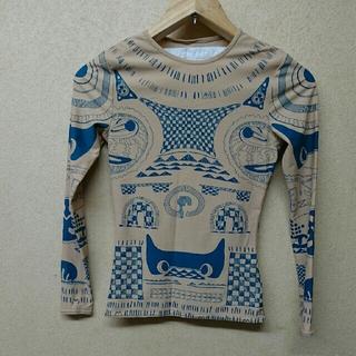 マルタンマルジェラ(Maison Martin Margiela)のMaison Martin Margiela H&M タトゥー トップス(Tシャツ(長袖/七分))