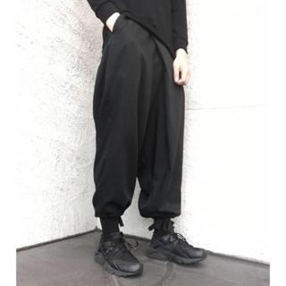 ヨウジヤマモト(Yohji Yamamoto)のyohji yamamoto GroundY サルエルバルーンパンツ(サルエルパンツ)