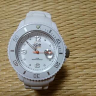 アイスウォッチ(ice watch)の★ice 白 腕時計★(腕時計)