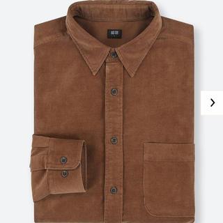 ユニクロ(UNIQLO)のコーデュロイシャツ(シャツ)