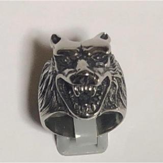 狼ヘッド リング(リング(指輪))