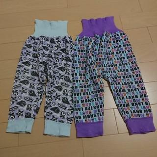 シマムラ(しまむら)の腹巻き付きズボン 80 セット(パジャマ)
