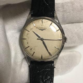 ロンジン(LONGINES)のロンジン 手巻き アンティーク 稼働品(腕時計(アナログ))