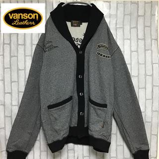バンソン(VANSON)の【VANSON】【ビッグシルエット】【ライダー系】【バック刺繍】【ブルゾン】(ブルゾン)
