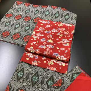 正絹、袷、紬のお着物(帯は別売り)(着物)