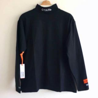 HERON PRESTON ヘロン プレストン ロンT ハイネック Tシャツ(Tシャツ/カットソー(七分/長袖))
