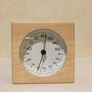MUJI (無印良品) - 無印 ブナ材温湿度計