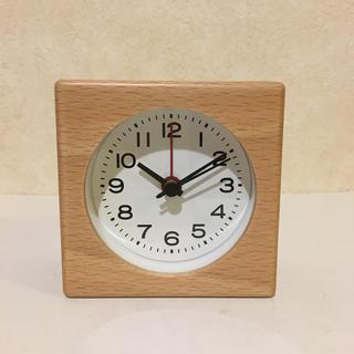 MUJI (無印良品) - 無印 ブナ材時計