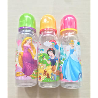 Disney - 【新品】ディズニー プリンセス 哺乳瓶3本セット 250ml プラ 日本未発売