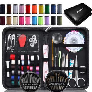 持ち運びに便利!裁縫セット ソーイングセット 携帯式(日用品/生活雑貨)