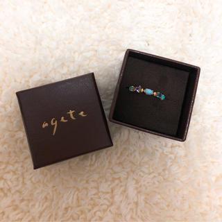 アガット(agete)の【agete】K10 リング(リング(指輪))