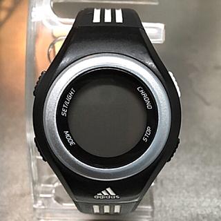 アディダス(adidas)のアディダス スポーツウォッチ 説明書付(腕時計(デジタル))