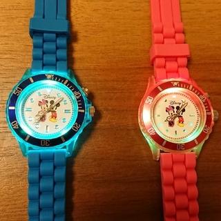 ディズニー(Disney)のdisney 子ども用腕時計 セット(腕時計)
