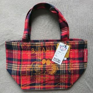 ブーフーウー(BOOFOOWOO)のスヌーピー ネル刺繍 ランチトート BOOFOOWOO(トートバッグ)