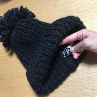 メゾンドリーファー(Maison de Reefur)の梨花ちゃん着用  ボンボン付きニット帽(ニット帽/ビーニー)