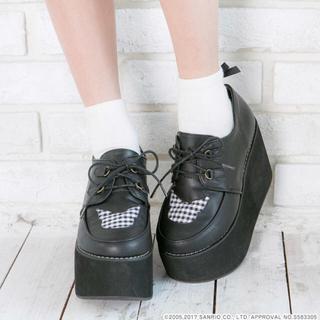 ユメテンボウ(夢展望)の夢展望 クロミちゃん 厚底靴(ローファー/革靴)