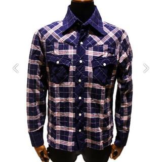 アユイテ(AYUITE)の新品未使用‼️ AYUITE 14a/w チェックシャツ(シャツ)