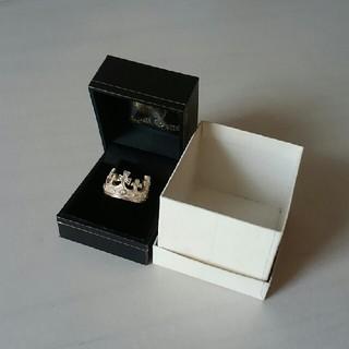 ロイヤルオーダー(ROYALORDER)のレア一点物LARGE REGAL CROWN RING w/ DIAMONDS(リング(指輪))