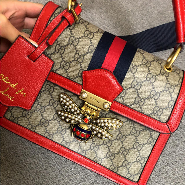 competitive price 4e63b df492 gucci クイーンマーガレット バッグ | フリマアプリ ラクマ