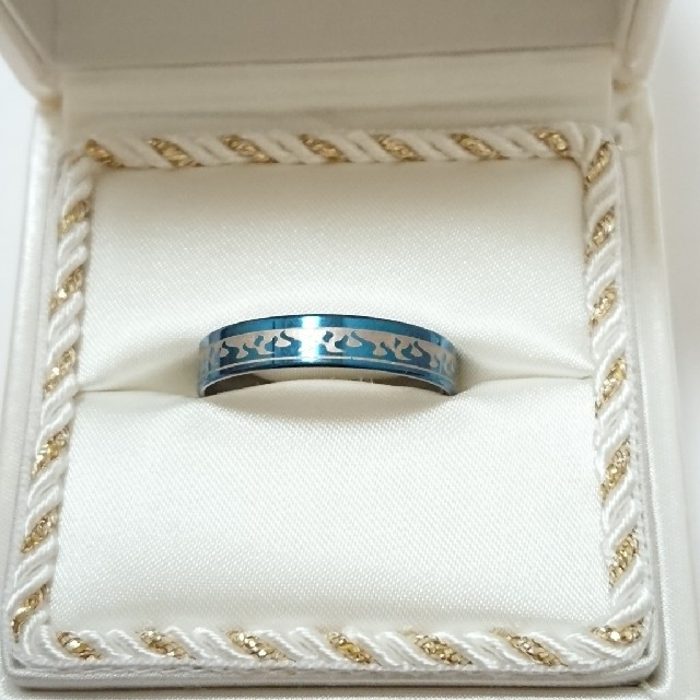 新品未使用 美品 リング 指輪 オシャレなデザイン 男女兼用 サイズ29号 74 レディースのアクセサリー(リング(指輪))の商品写真