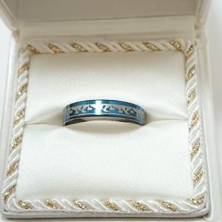 新品未使用 美品 リング 指輪 オシャレなデザイン 男女兼用 サイズ29号 74(リング(指輪))