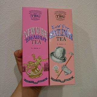 TWGニューヨークブレックファースト&アールグレイジェントルマンセット(茶)