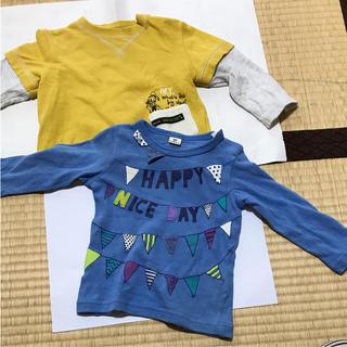 キムラタン(キムラタン)の男の子用キムラタン&ムージョンジョンセット(Tシャツ)