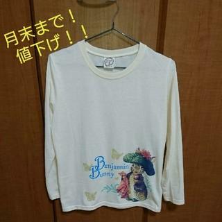 ディズニー(Disney)の★PETER RABBIT  ピーターラビット ★ ロングTシャツ  【L】(Tシャツ(長袖/七分))