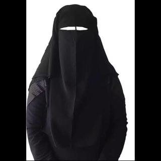 ラマダンセール! ニカーブ 黒 niqab black (その他)