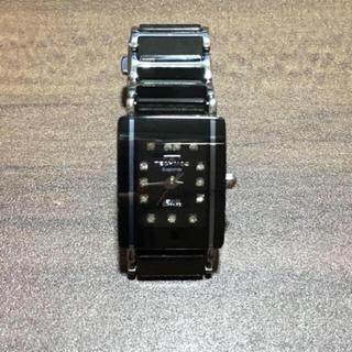 テクノス(TECHNOS)のテクノス  ダイヤモンド文字盤 腕時計(腕時計)