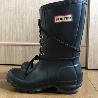 ハンター(HUNTER)のhunter ハンター レディース 長靴 レインブーツ 24センチ(レインブーツ/長靴)
