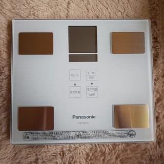 パナソニック(Panasonic)の☆新品同様 Panasonic体組織計(説明・保証書付き)☆(体重計/体脂肪計)