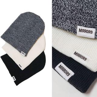 ジェイダ(GYDA)のMIRROR9 ミラーナイン 新作 ニット帽 ニットキャップ(ニット帽/ビーニー)