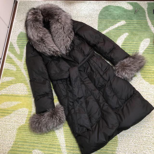 VICKY(ビッキー)のシルバーフォックス♡ファーダウンコート レディースのジャケット/アウター(ダウンコート)の商品写真