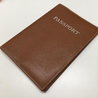 フォクシー(FOXEY)のFOXEY  パスポートカバー ブラウン(パスケース/IDカードホルダー)