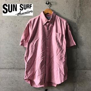 サンサーフ(Sun Surf)の【SUN SURF】半袖ボタンダウンシャツ  M(シャツ)