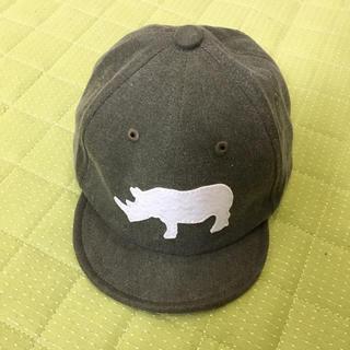 サマンサモスモス(SM2)のサイのキッズキャップ (帽子)