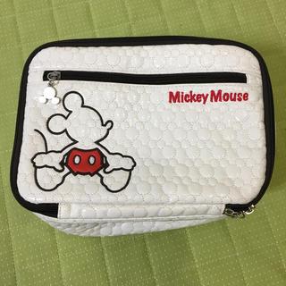 ディズニー(Disney)のミッキーオムツポーチ(ベビーおむつバッグ)
