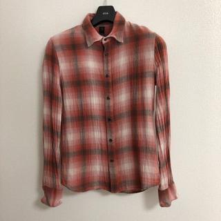 ダブルジェーケー(wjk)の美品wjkチェックシャツAKM1piu1uguale3junhashimoto(シャツ)
