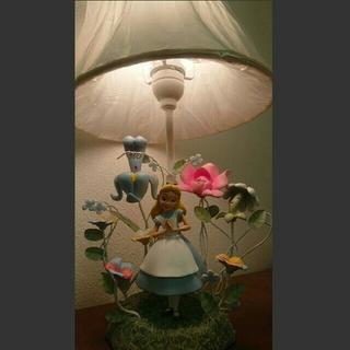 ディズニー(Disney)のディズニー 不思議の国のアリス ゴールデンアフタヌーン ルームライト 未使用(テーブルスタンド)