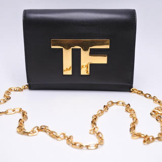 TOM FORD - トムフォード ミニショルダーバッグ 美品 中古 レディース チェーン付き 正規