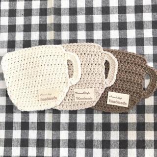 コーヒーカップ*コースター(キッチン小物)