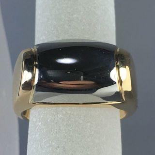 ブルガリ(BVLGARI)の◇美品【BVLGARI/ブルガリ】トロンケットリング K18YG/SS #8◇(リング(指輪))