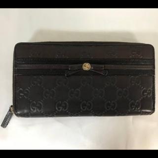 82d6a3730b2f ... 入れ付き財布. ¥15,000. グッチ(Gucci)の本物グッチGUCCI本革レザーGG柄ラウンドファスナージップ